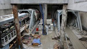 Tak Maria drąży tunel metra