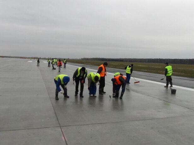 Remont pasa w Modlinie Lotnisko Modlin