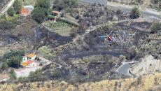 Pożary na Gran Canarii (PAP/EPA/Elvira Urquijo A.)