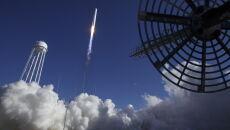"""Kosmiczny piekarnik"" leci na ISS (PAP/EPA/BILL INGALLS/NASA HANDOUT)"