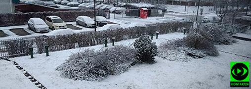 Śnieg za oknem i arktyczne powietrze. Zimowy listopad na Waszych zdjęciach