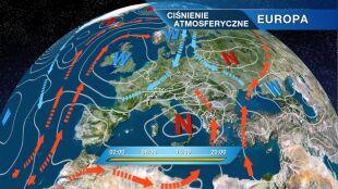Napływa zimne i wilgotne powietrze pochodzenia arktycznego