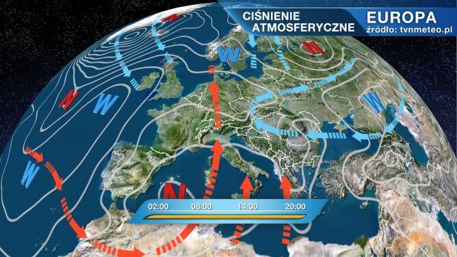 Polska pod wpływem arktycznego powietrza
