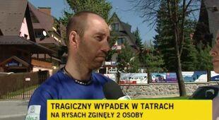 Narciarz spadając potrącił turystkę. Nie żyją