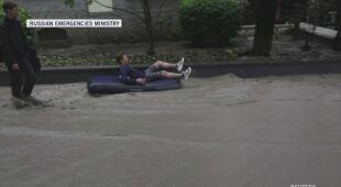 Powodzie na Krymie